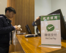 A Chinese shopper using WeChat Pay - China Elite Focus